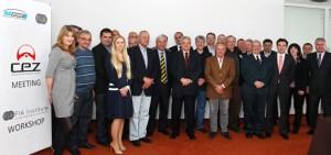 Dr. Sean O'Connor attended presentation in Slovenia